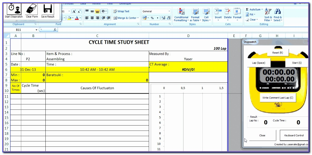 Lean Manufacturing Templates Free