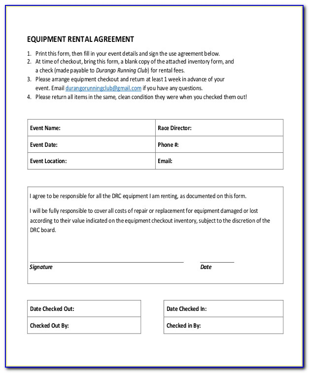 Lease Agreement Template Ireland