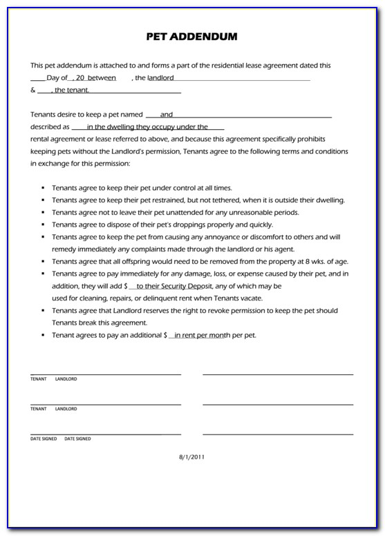 Lease Letter Of Intent Template