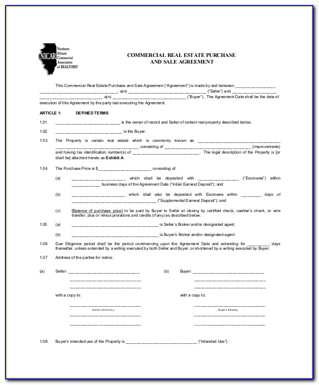 Lease Purchase Agreement Form Texas