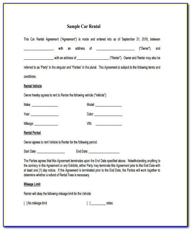 Lease Purchase Agreement Template Download