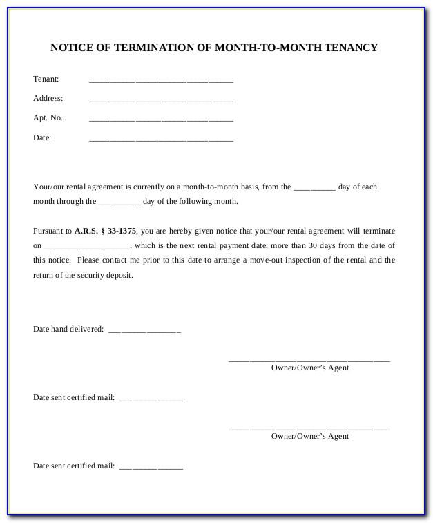 Lease Termination Letter Template Uk