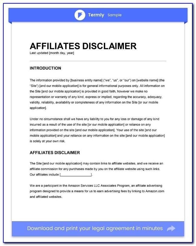 Legal Contract Example Pdf