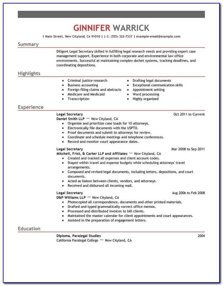 Legal Retainer Agreement Template
