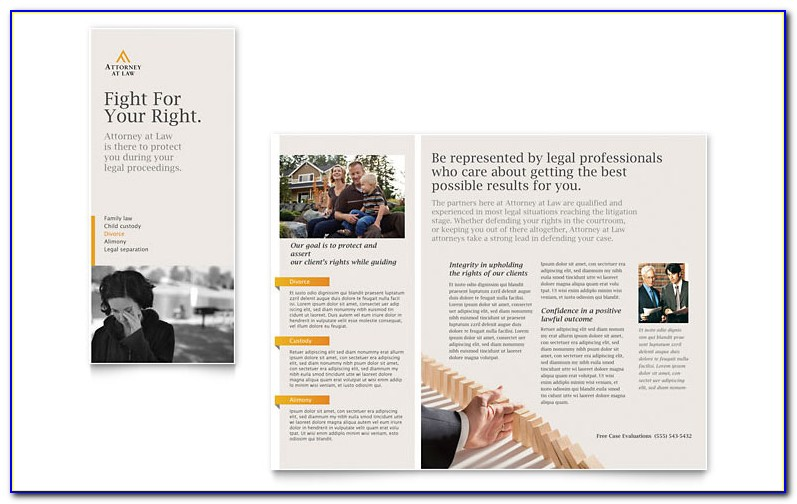 Legal Size Brochure Template Indesign
