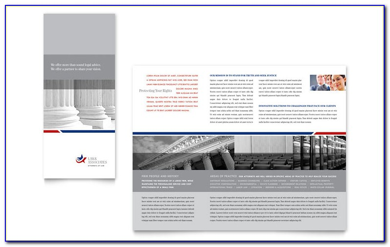 Legal Size Brochure Template Publisher