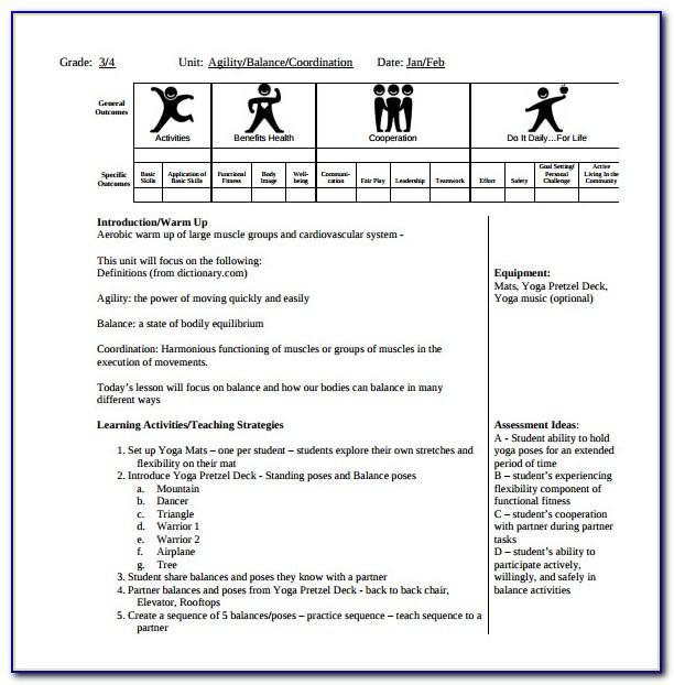 Lesson Observation Planning Format