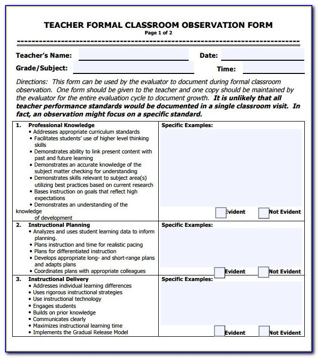 Lesson Plan Format For Pe