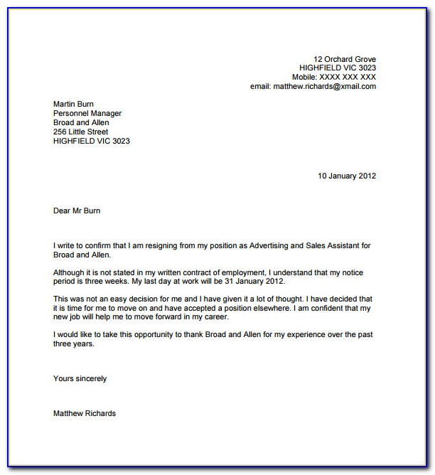 Letter Of Recommendation Template For Student From Employer