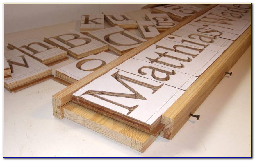 Letter Templates For Woodworking