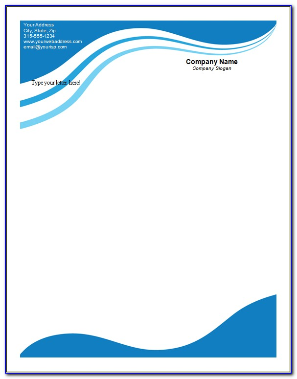 Letterhead Design Templates Ai Free Download