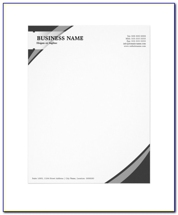 Letterhead Design Templates Psd Free Download