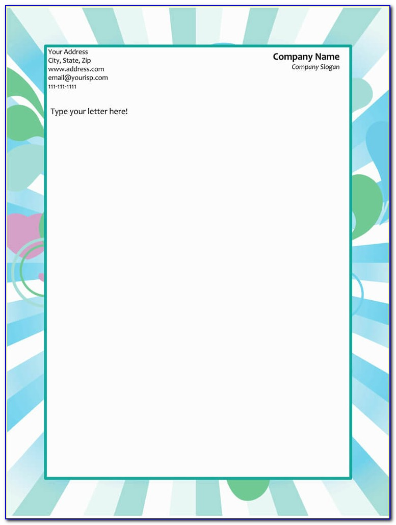 Letterhead Designs Templates Free Download