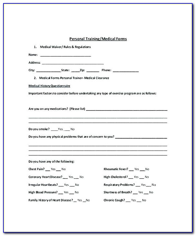 Liability Waiver Template Australia