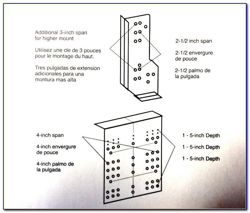 Liberty Cabinet Hardware Installation Template Instructions