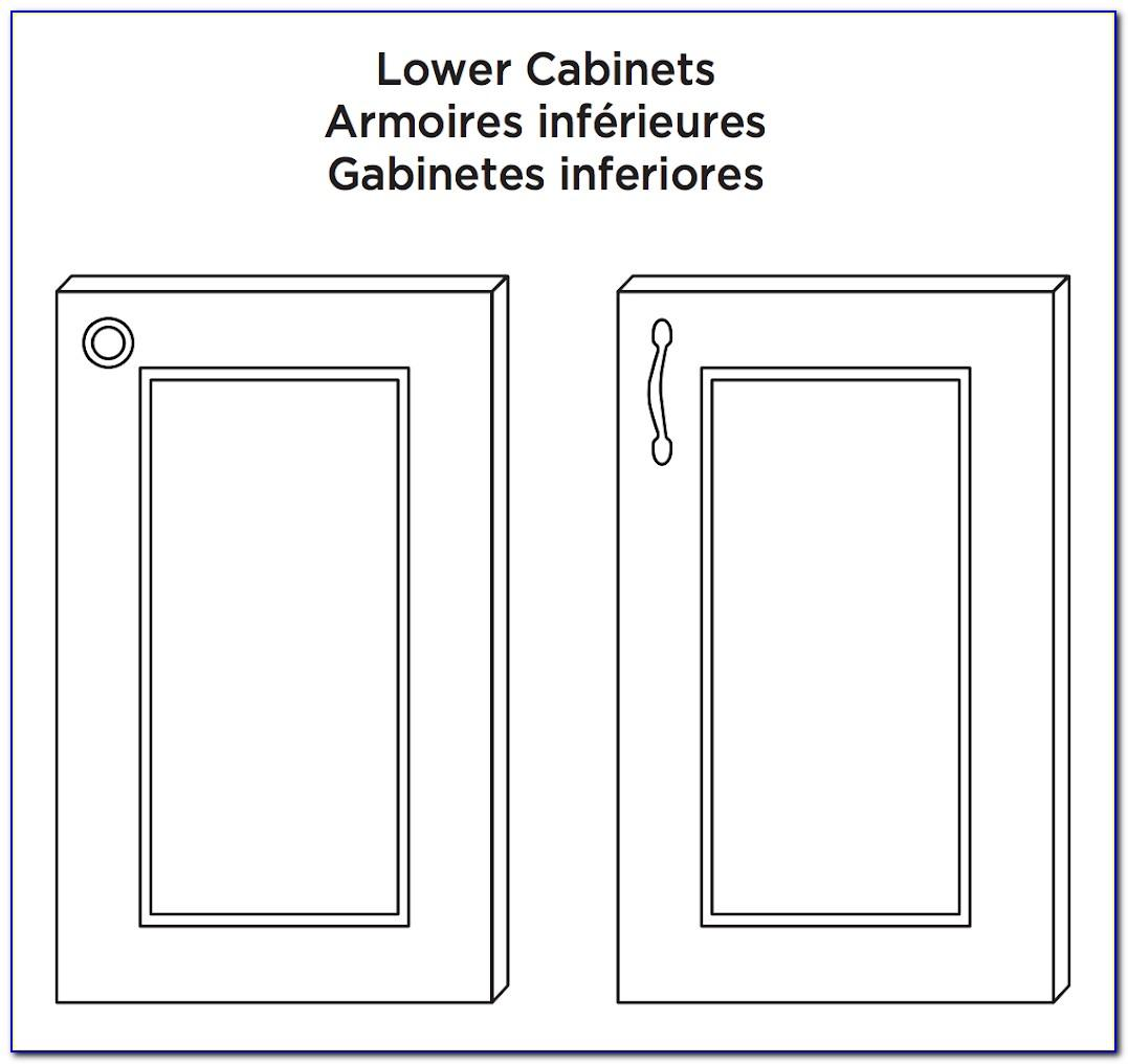 Liberty Hardware Template Instructions