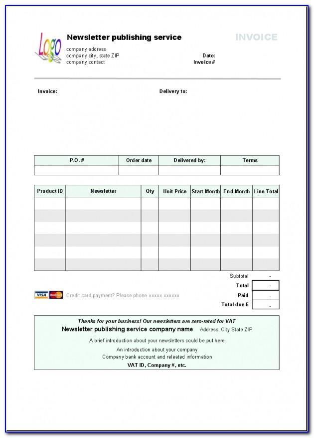 Libre Calc Invoice Templatelibre Calc Invoice Template