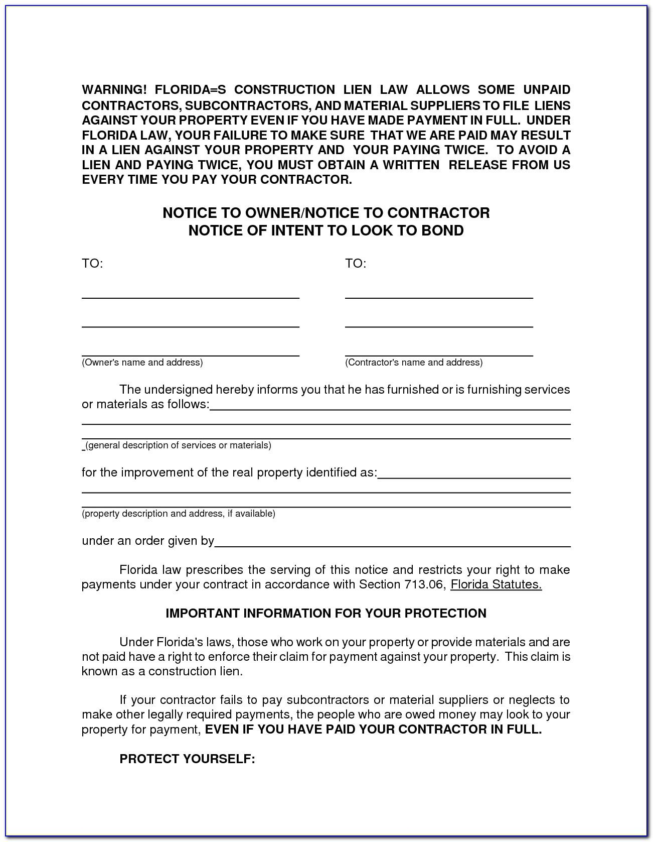 Lien Holder Letter Of Guarantee Template