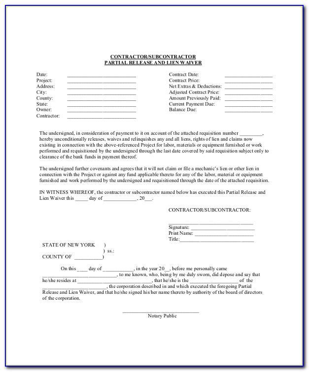 Lien Release Letter Sample