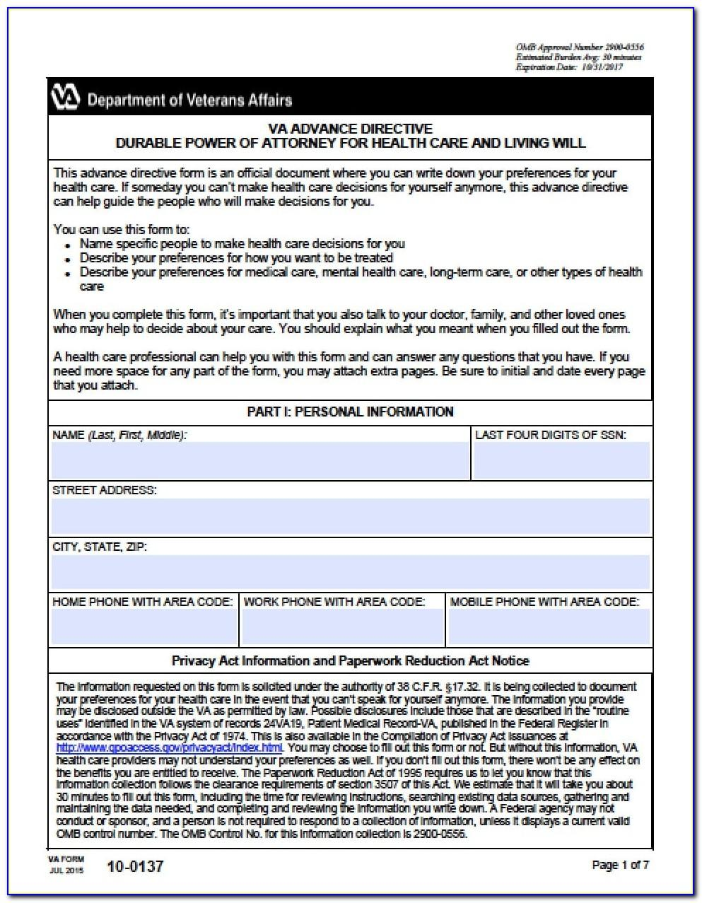 Limited Power Of Attorney Form Doc