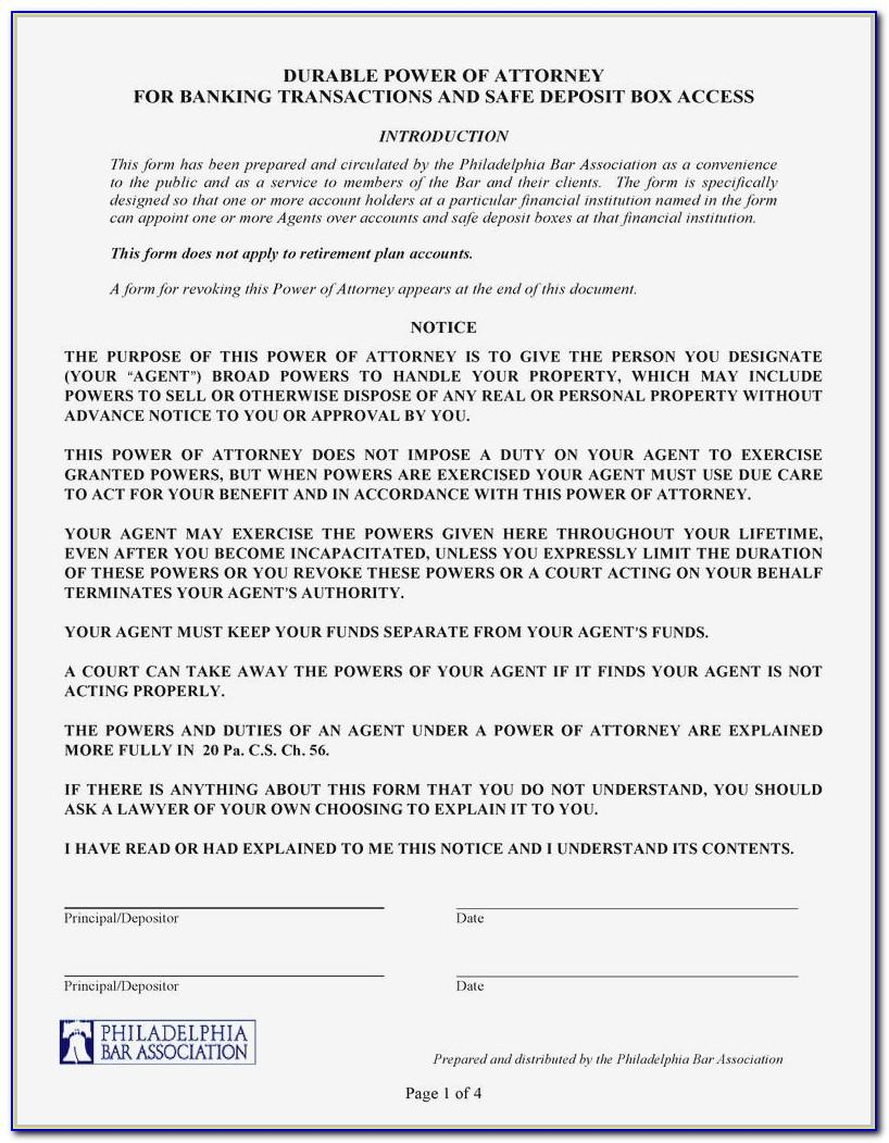 Limited Power Of Attorney Form Real Estate Georgia