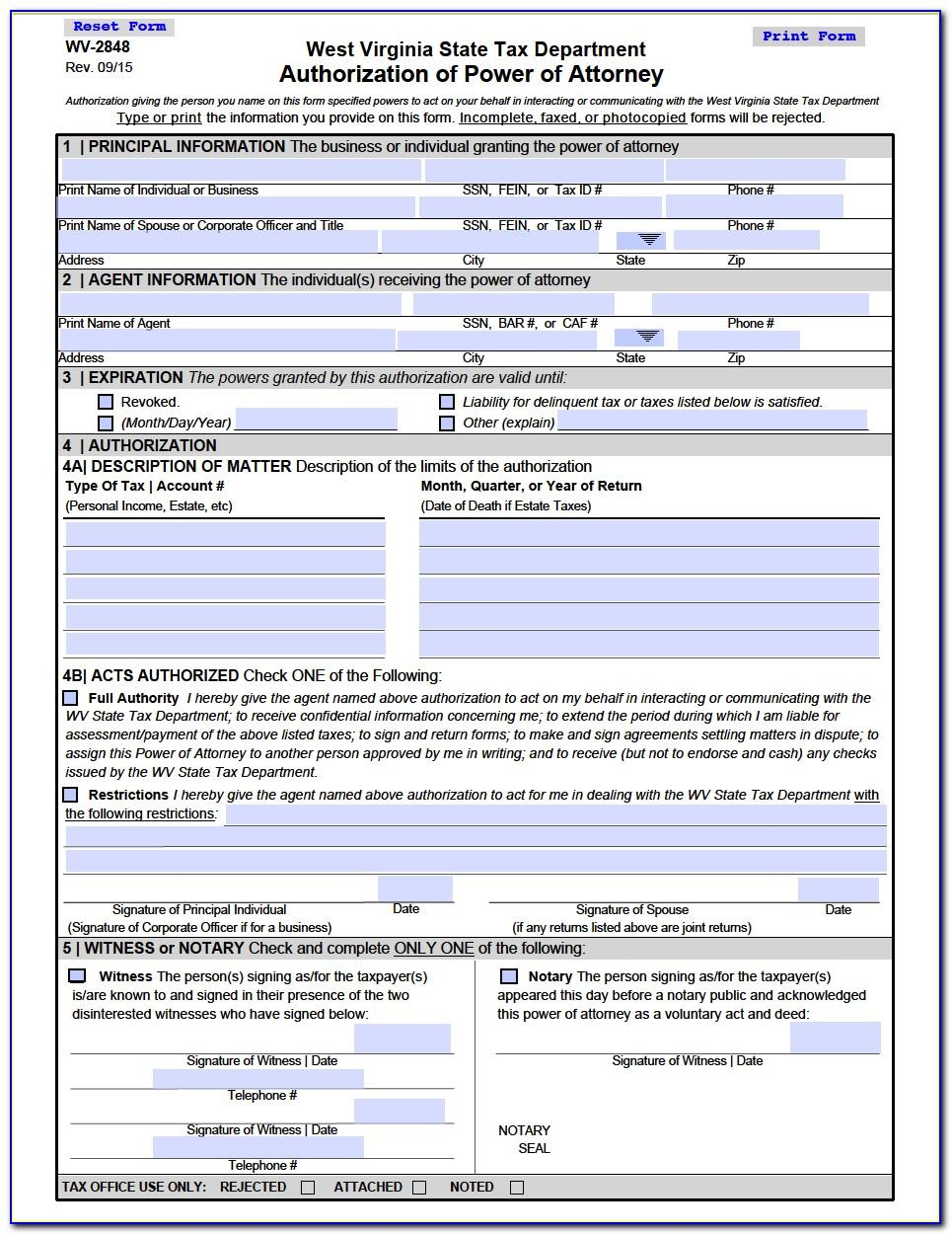Limited Power Of Attorney Form Real Estate Michigan