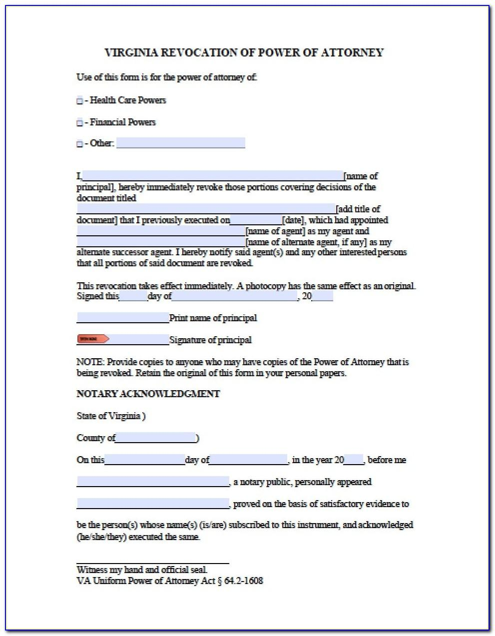Limited Power Of Attorney Template Real Estate