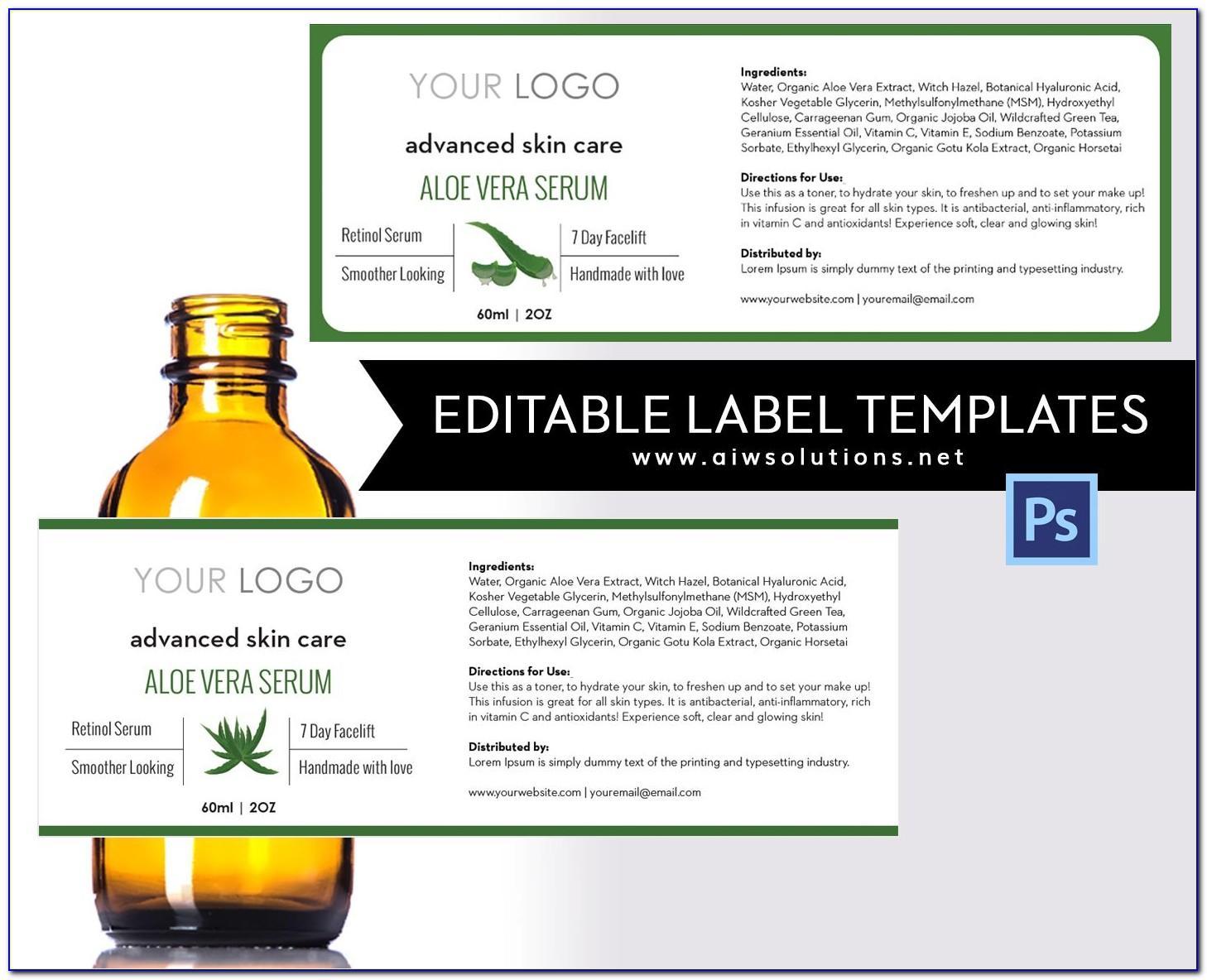 Liquid Soap Label Design Templates