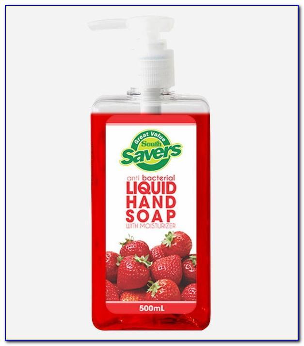 Liquid Soap Label Template