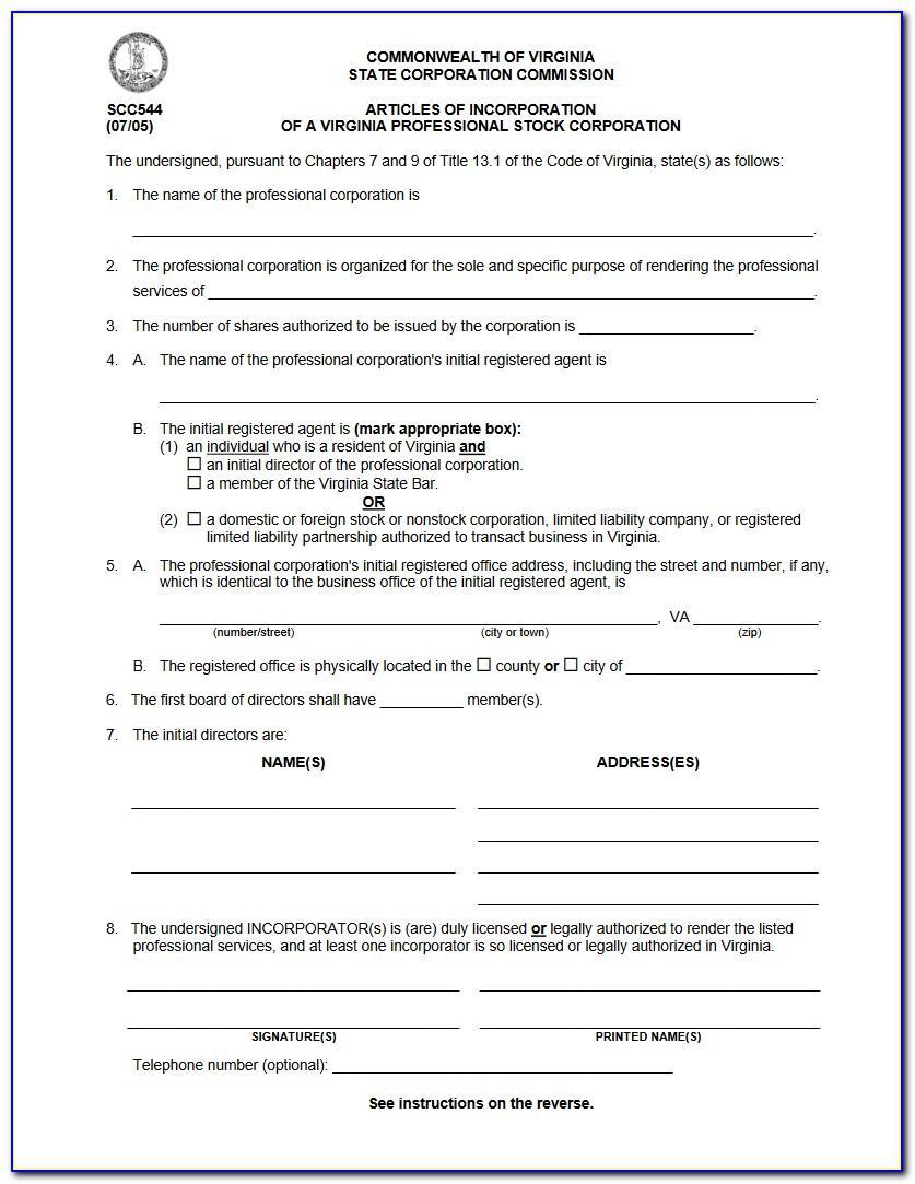 Llc Articles Of Organization Template Iowa