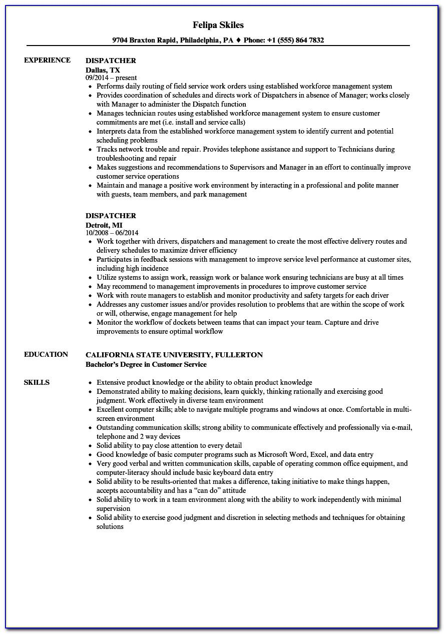 Logistic Assistant Job Description Resume