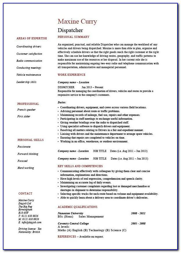 Logistics Customer Service Job Description For Resume