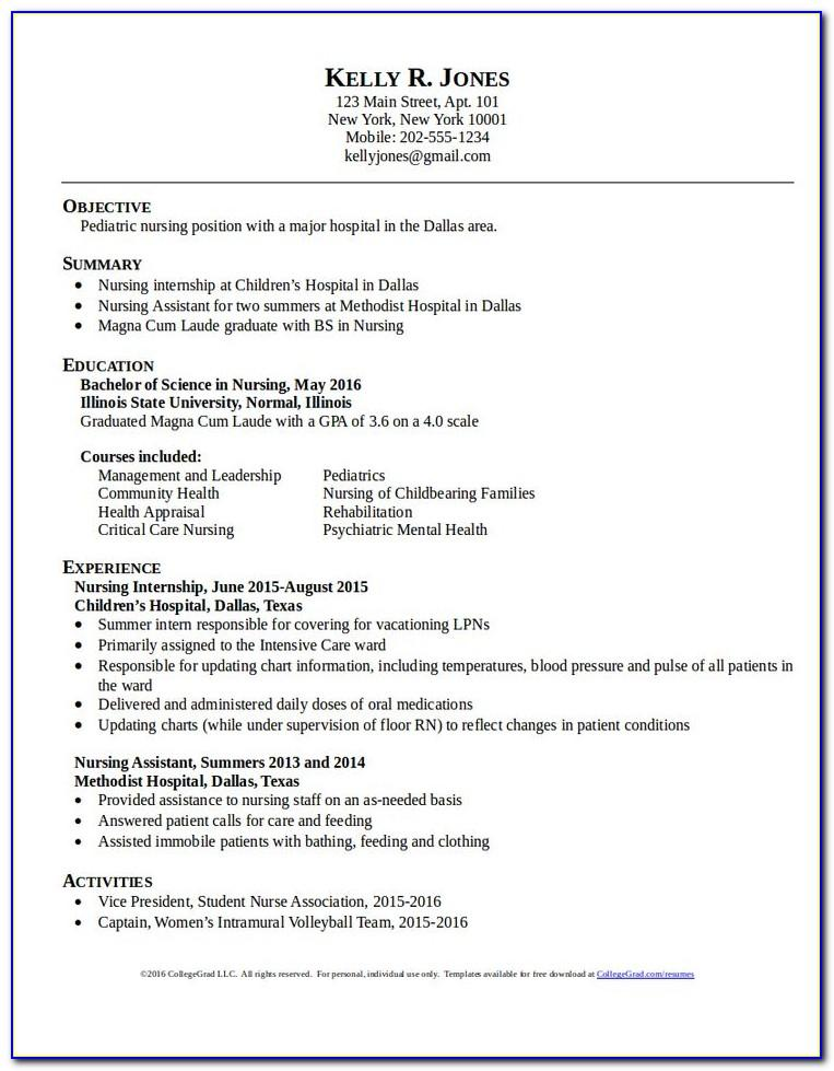 Lpn Resume Sample Long Term Care
