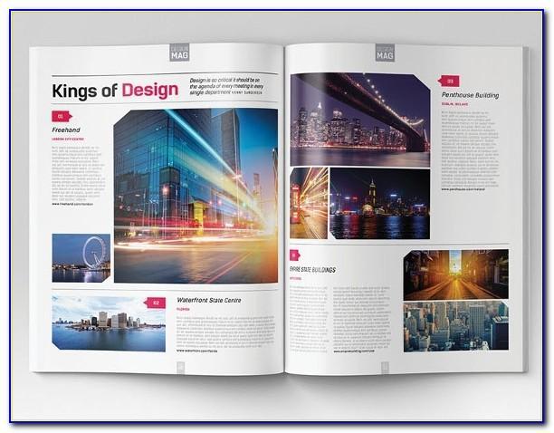 Magazine Design Templates Indesign Free