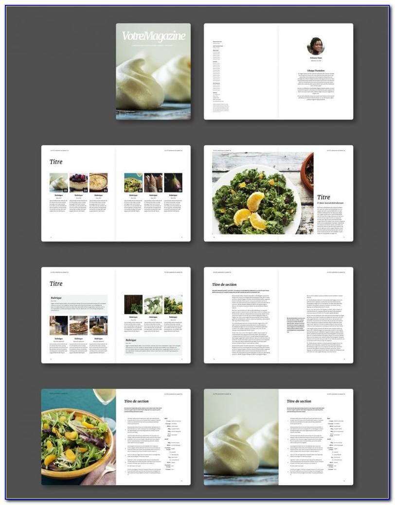 Magazine Layout Template Indesign