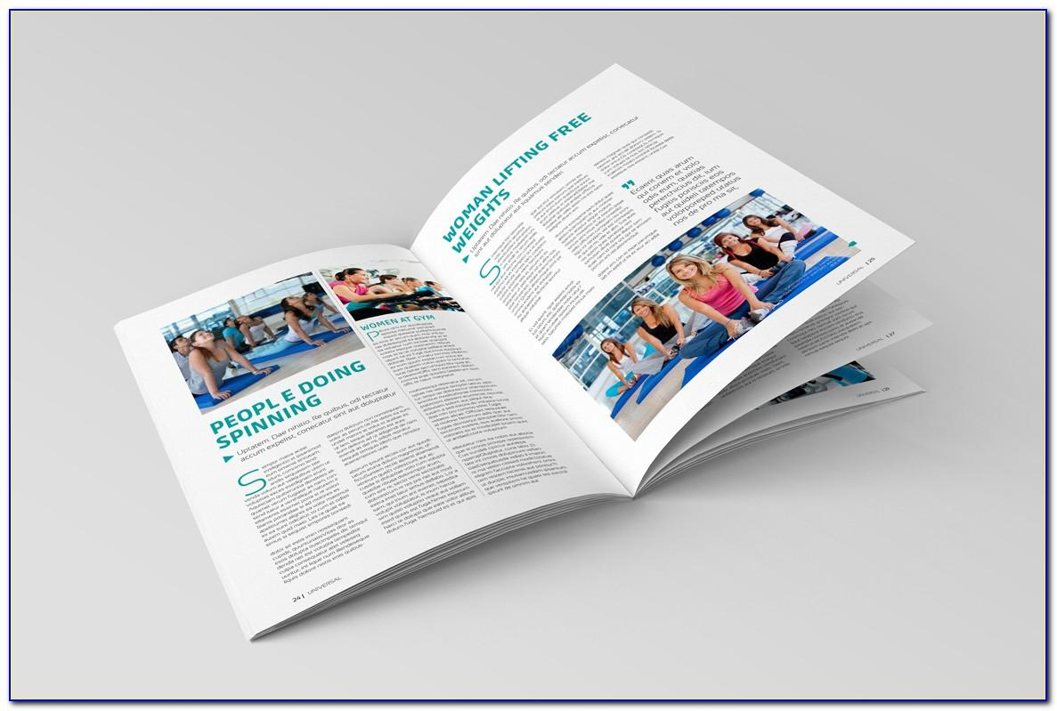 Magazine Template Adobe Indesign Free