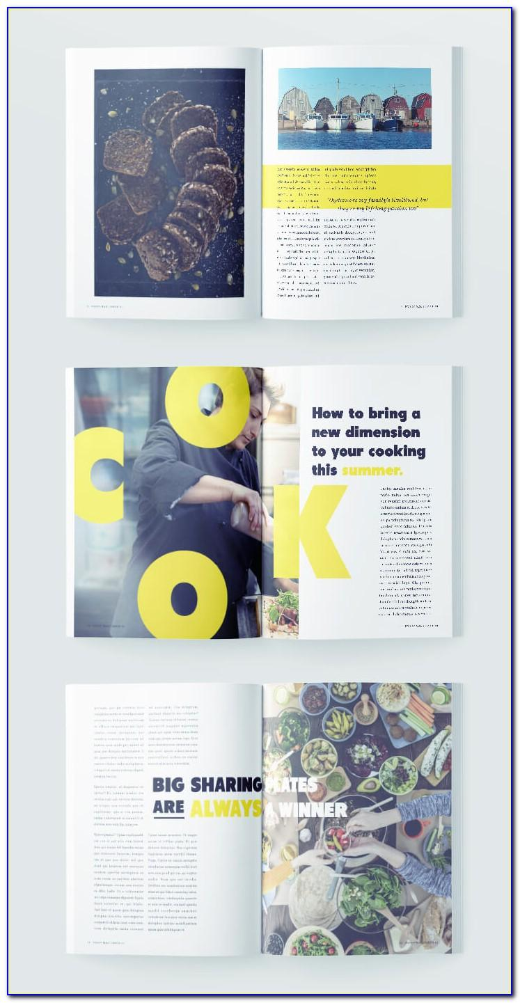 Magazine Template For Indesign Free