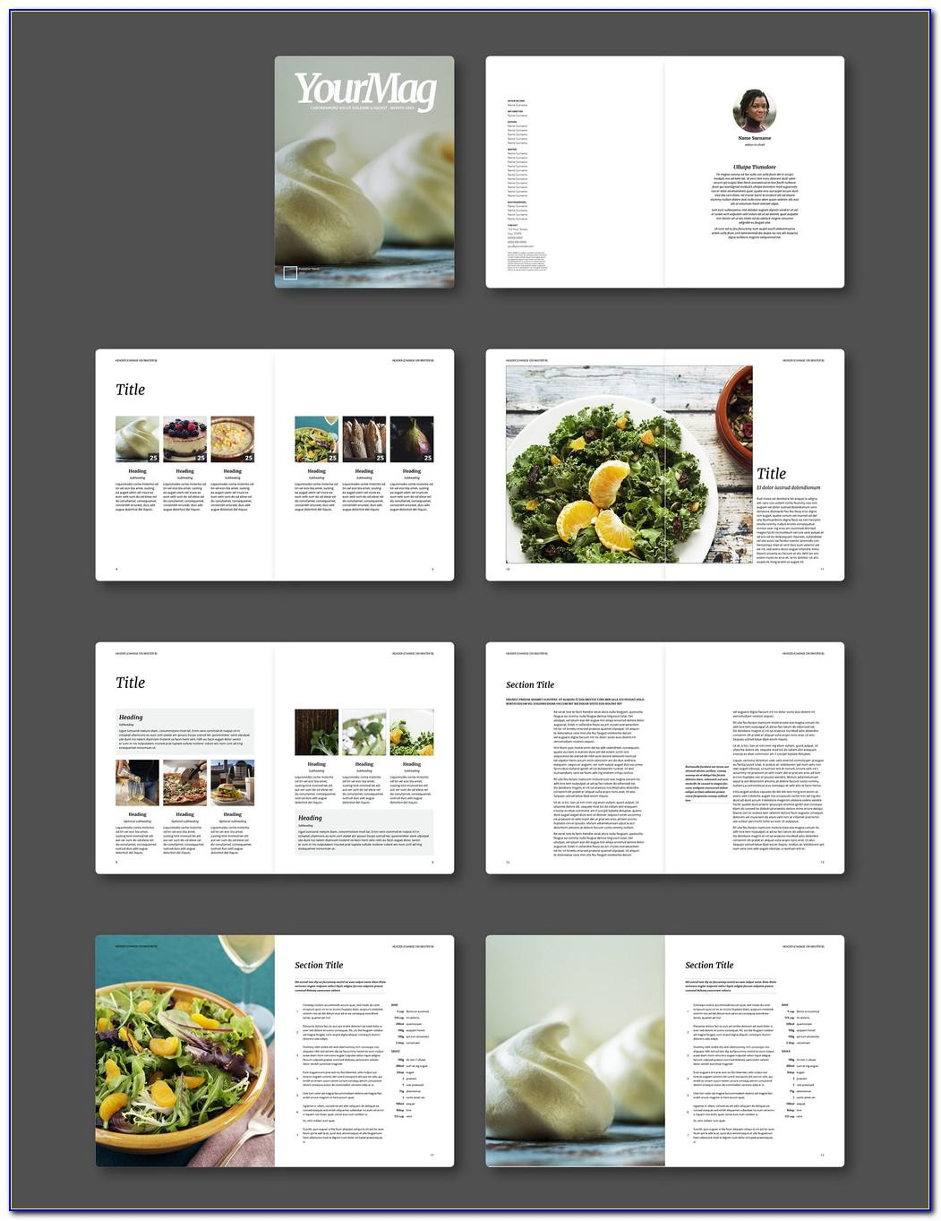 Magazine Template Indesign Free Download