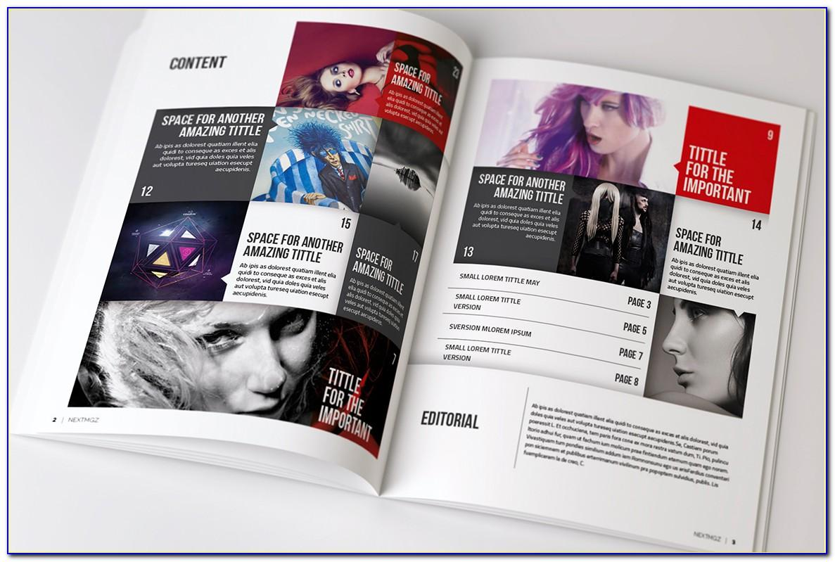 Magazine Templates For Indesign Free