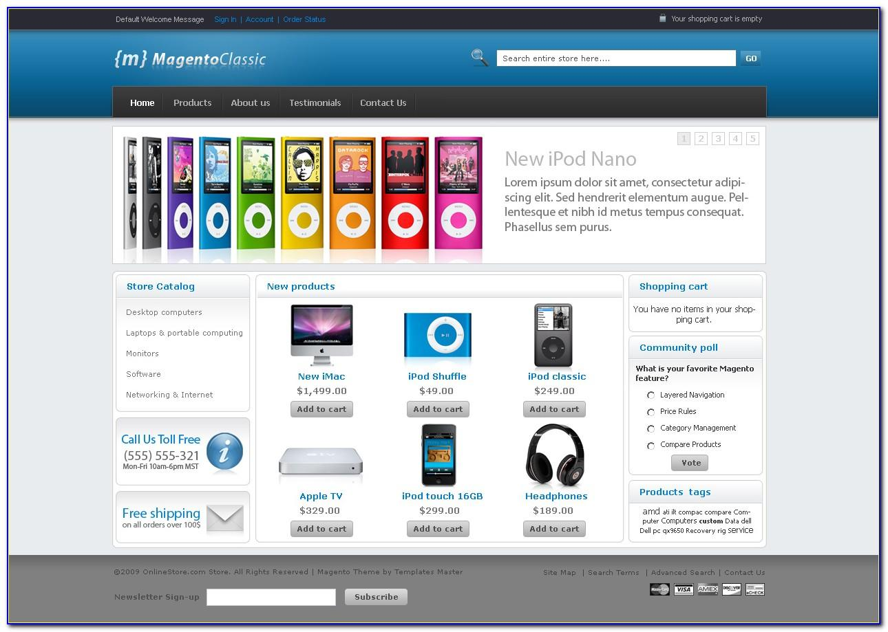 Magento Ebay Description Template
