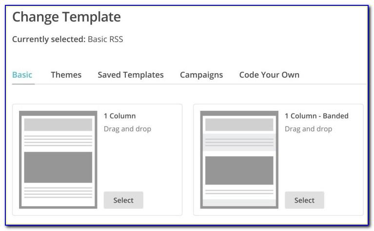 Mailchimp Rss Campaign Template