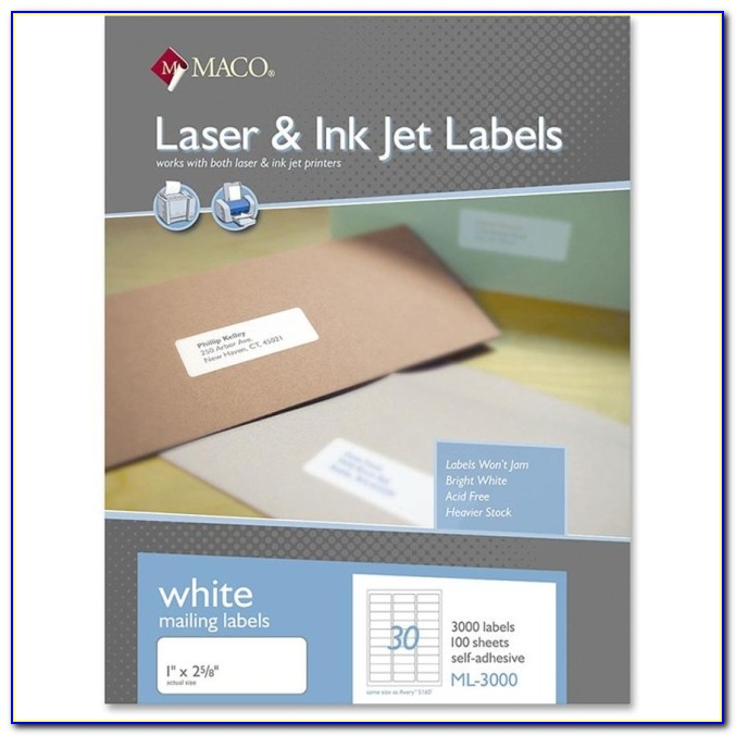 Mailing Label Template Avery 5163