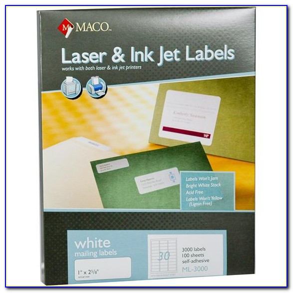 Mailing Label Template Avery 8160