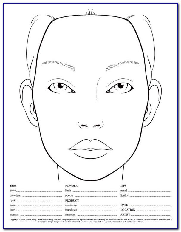 Makeup Consultation Form Examples