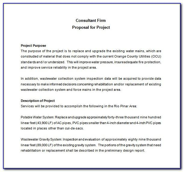 Management Consulting Engagement Letter Template