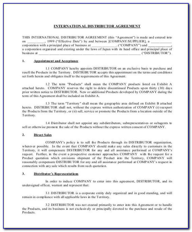 Manufacturing License Agreement Free Template