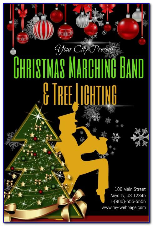Marching Band Flyer Templates