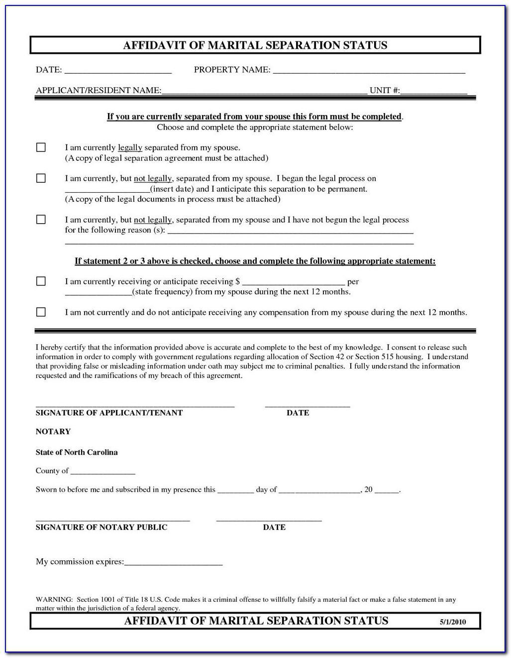 Marital Settlement Agreement Template Georgia