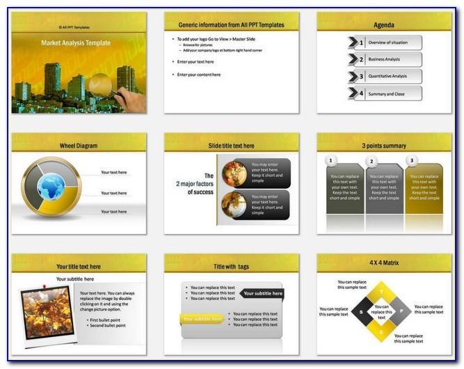 Market Analysis Powerpoint Template Free