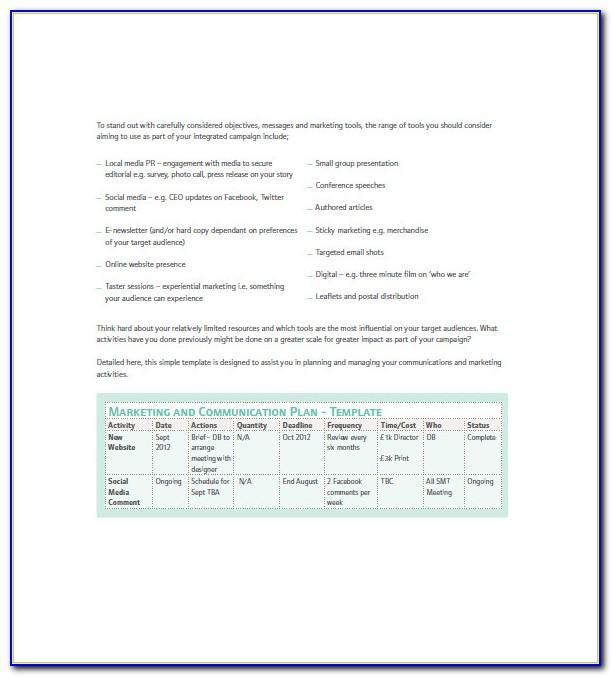 Marketing Campaign Report Example